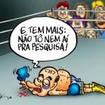 Pesquisa: Dilma dispara 17,2% de vantagem sobre tucano