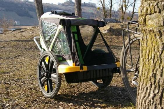 Reboque de crianças para bicicleta