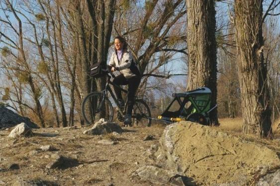 Trailer reboque para bicicleta