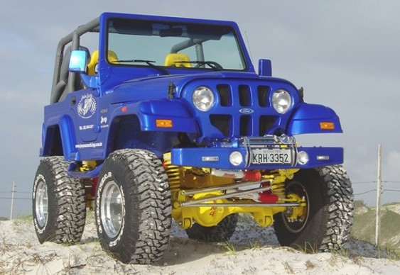 Jeep Willys CJ5 modificado