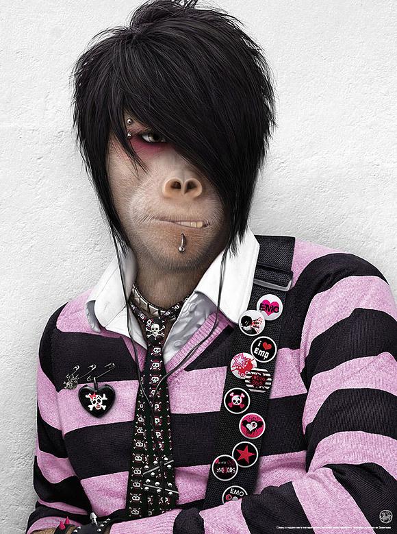 Macaco Emo - Estilo