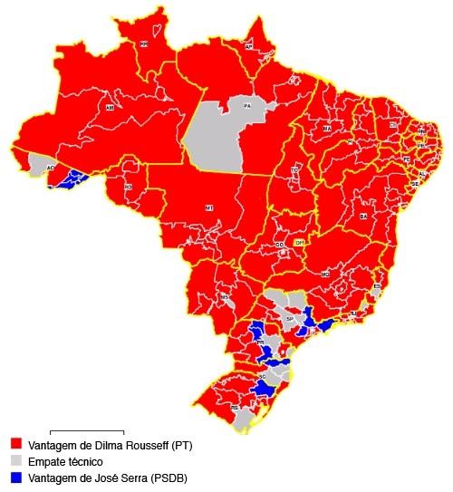 Eleição 2010 - onda vermelha progressista