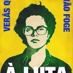 Banner da Dilma: Verás que um filho teu não foge à luta!