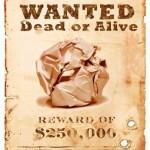 Procura-se, passada ou amassada, bola de papel assassina
