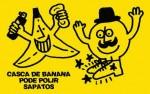 Casca de banana para dar brilho a sapatos