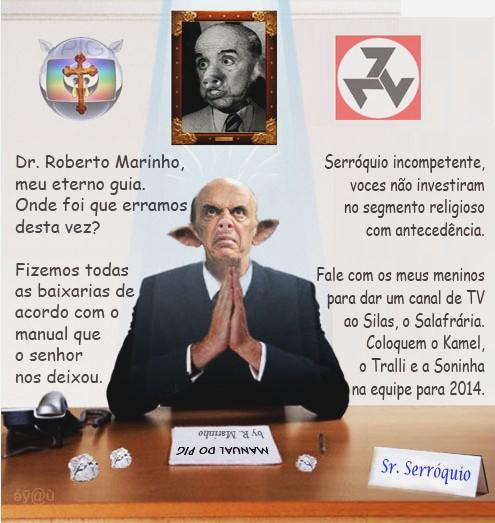 Charge - Sr. José Serróquio Serra