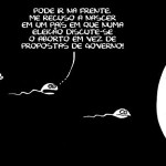 O protesto do espermatozóide com hipocrisia religiosa tucana