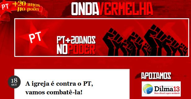Falso blog ataca Dilma