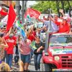 Chegou a hora das jipeiras: neste domingo, dia 31, é Dilma 13
