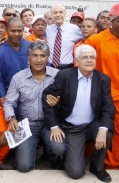 José Serra e Paulo Preto