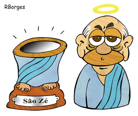 José Serra - santo do pau-oco