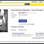 Tucano já colocou Petrobras à venda no site Mercado Livre