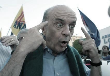 José Serra - olhar do ódio e ambição