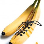 Para a Adidas tudo parece possível, até banana virar tênis