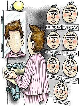 Uma cara pra cada dia da semana