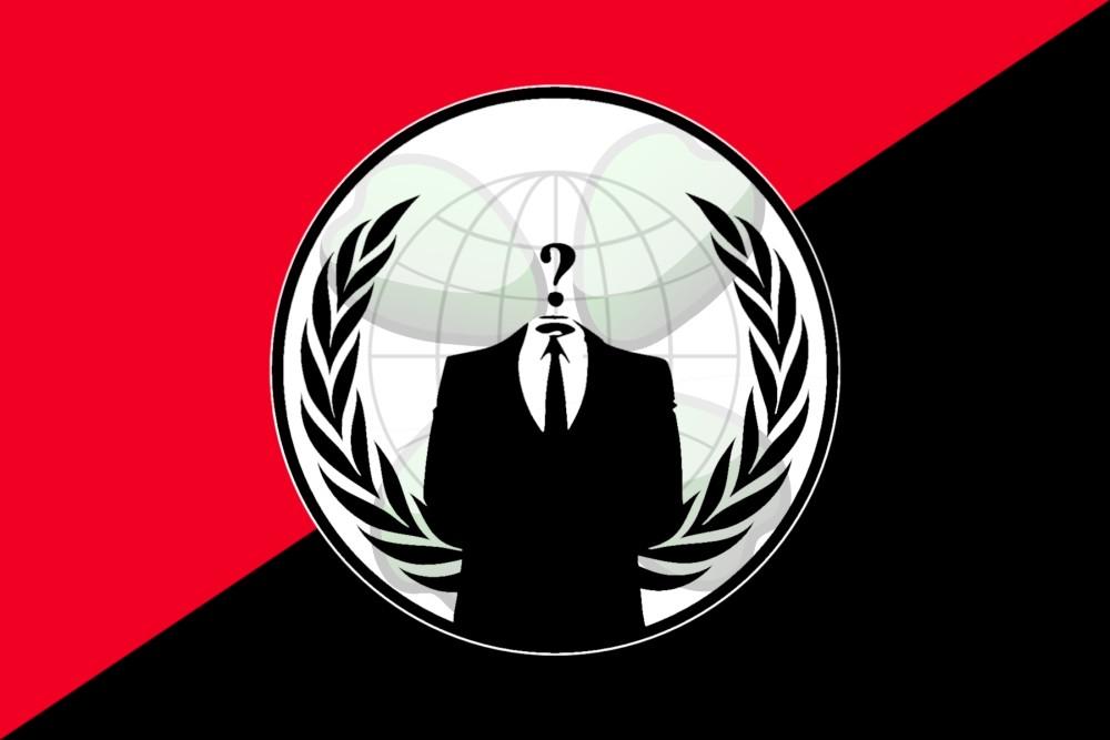 Anonymous - bandeira rubro-negra