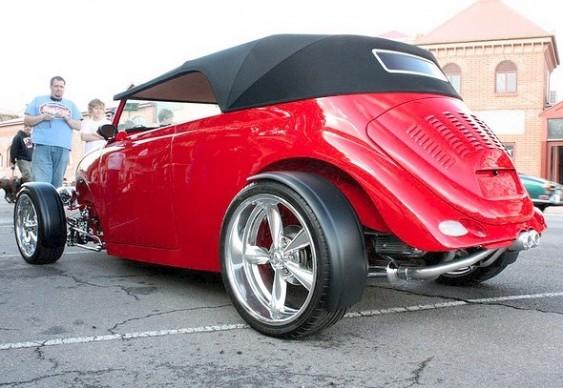 VW Fusca hot rod