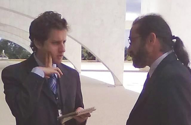 """Breno Costa - """"repórter"""" da Folha de São Paulo"""
