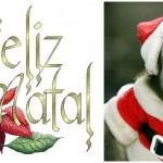 Um Feliz Natal para a macacada pendurada neste galho virtual