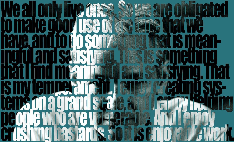 Wallpaper de Julian Assange, do WikiLeaks
