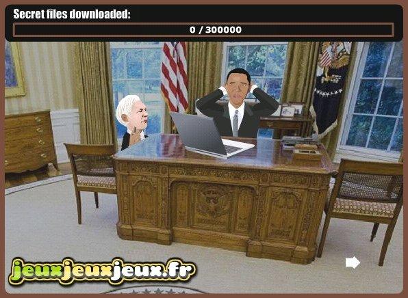 WikiLeaks - Game Online - jogo