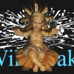 Charge de Natal: homenagem a Julian Assange e WikiLeaks