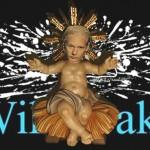 Charge de Natal: homenagem a Julian Assange e WikiLeaks