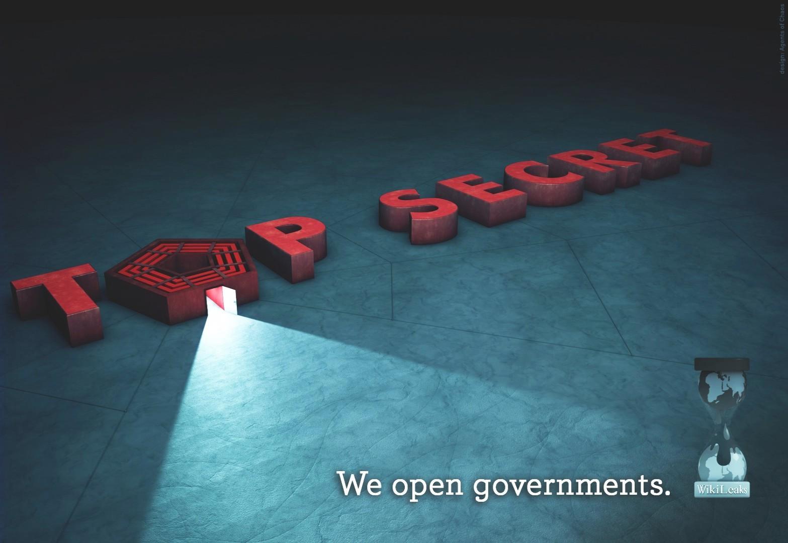 WikiLeaks - wallpaper