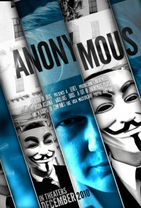 WikiLeaks Anonymous - Poster