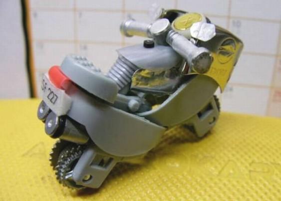 Bic-bike - miniatura de moto