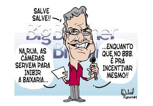 Pedro Bial e BBB11 = baixaria na Globo