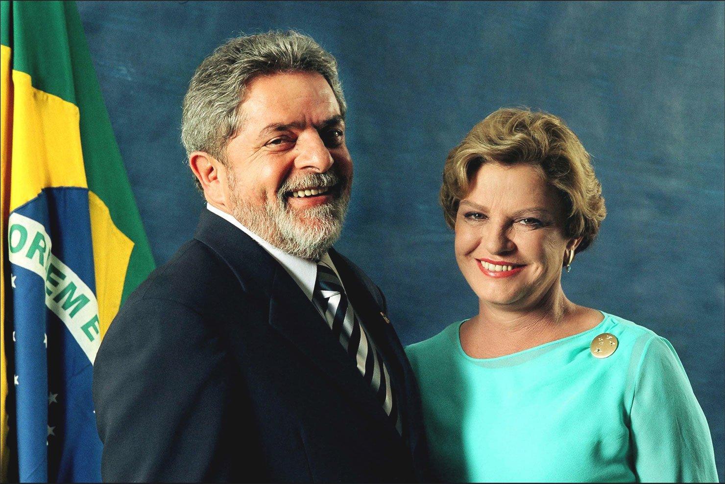 Presidente Lula e Dona Marisa