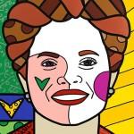 Artista publica retrato da presidenta Dilma no New York Times