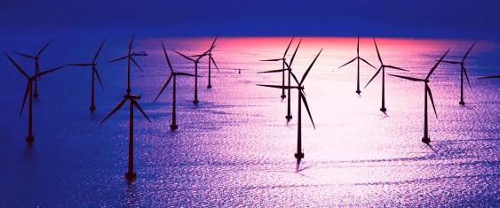 Energia do vento no mar