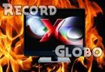TV Globo vs TV Record - Ibope