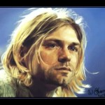 Retrato de Kurt Cobain em pintura digital ultra-rápida com Photoshop