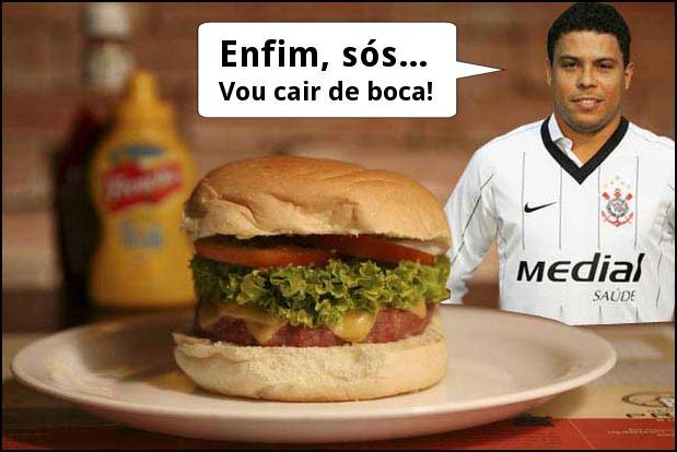 Ronaldo Gordo - Fenômeno do sanduíche