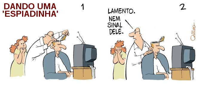 Charge - Big Brother Brasil