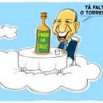 Uma charge para José Alencar, vice-presidente do Brasil