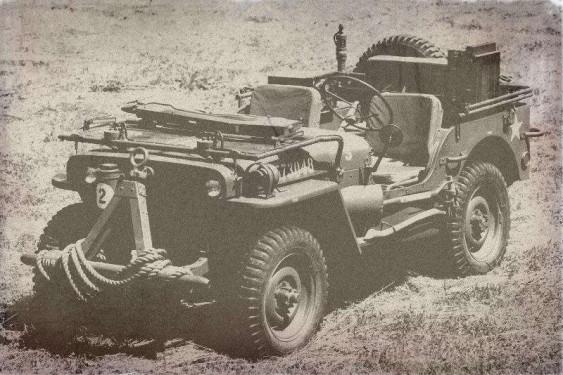 Foto de jeep militar