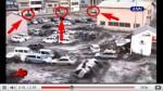 Tsunami engole carros no Japão