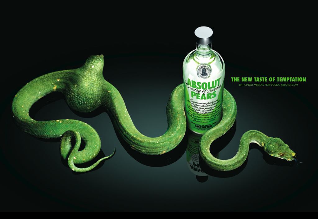 A bebida da serpente verde