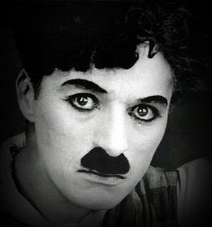 Canhoto famoso - Chaplin