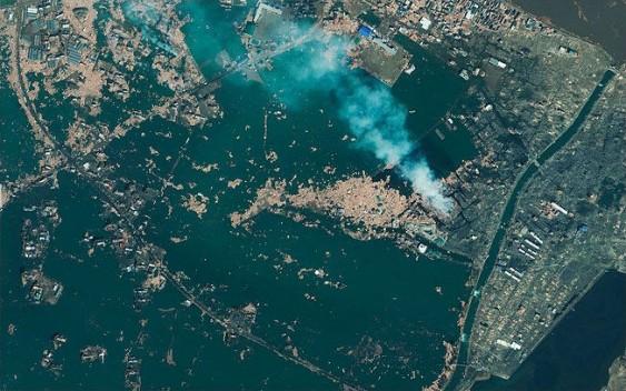 DEPOIS do tsunami no Japão