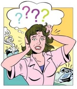 Mulher com stress