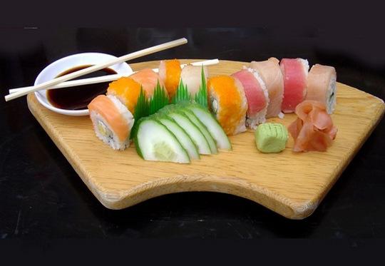 Sushi - comida típica japonesa