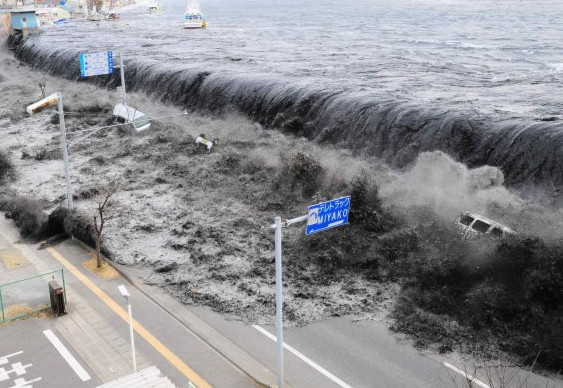 Tsunami no Japão