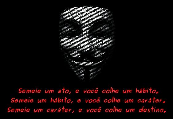 Anonymous - mensagem