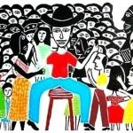 O cordelista que 'arrombou a festa' pobre de Caê e Bial