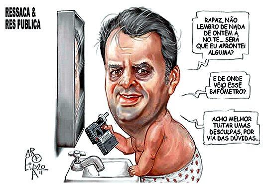 Aécio Neves - álcool e droga